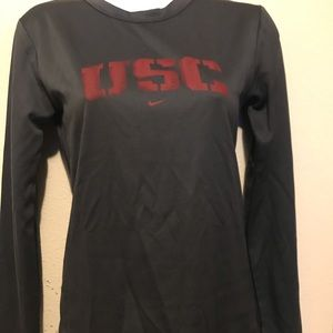 Women's Nike FiT Dry USC Long Sleeve Shirt XS